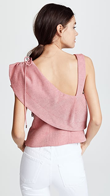 Carven Cropped Tank