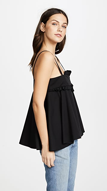 Carven Ruffled Top