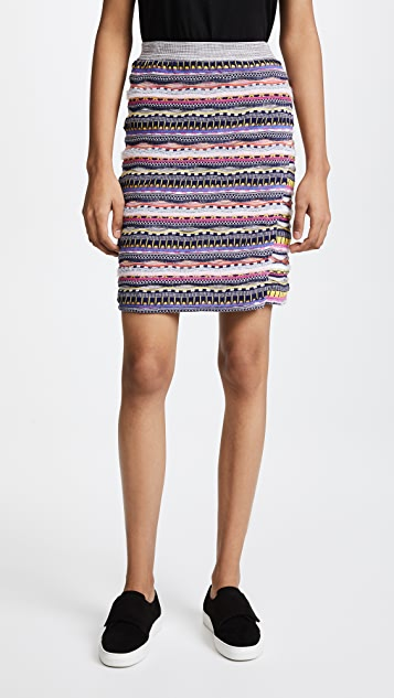 Carven Knit Skirt - Multi
