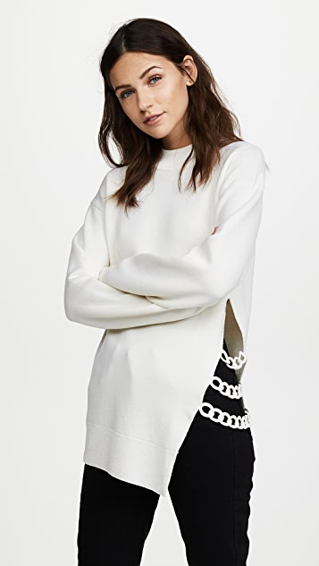 Carven Chain Detail Sweater