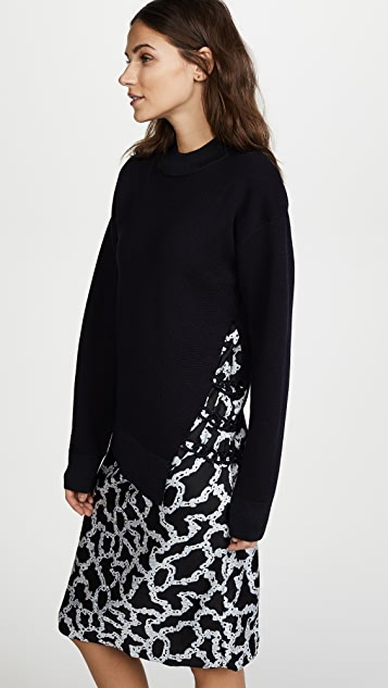 Carven Sweater Dress