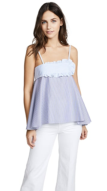 Carven Striped Camisole