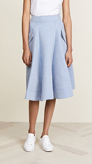 Carven Skirt with Pockets