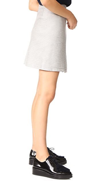 Carven Wrap Skirt
