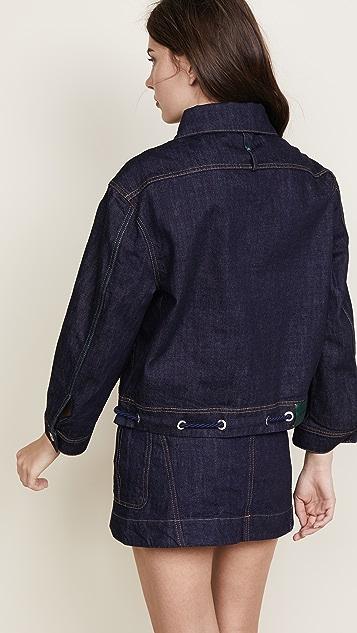 Carven Oversize Denim Jacket