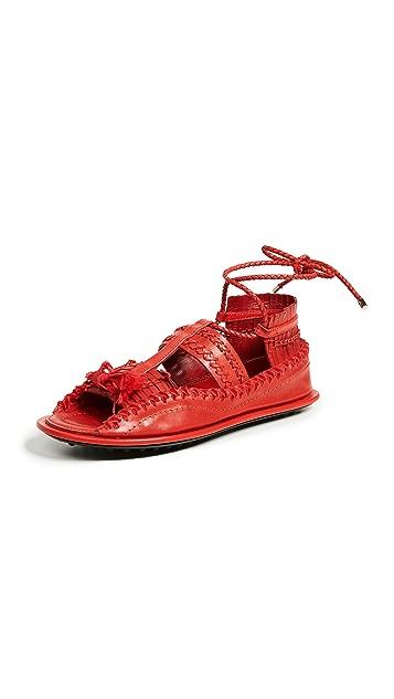 Carven Berri Open Toe Sandals