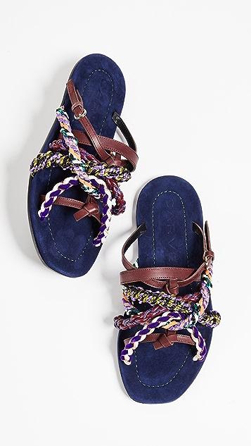 Carven Turenne Slip On Sandals