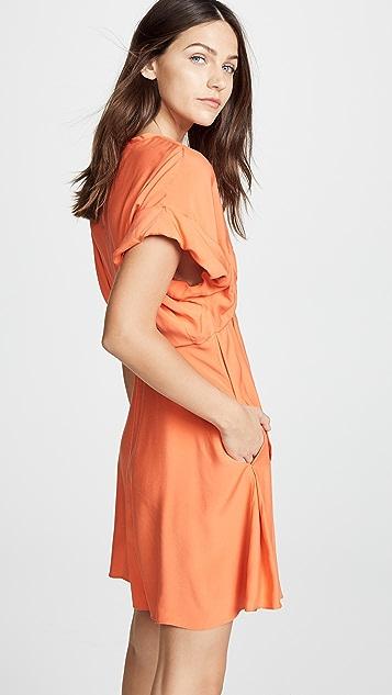 Carven Pleated Skirt Dress