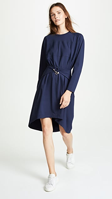 Carven Twist Waist Dress