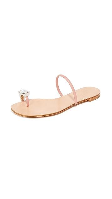 Casadei Toe Ring Sandals