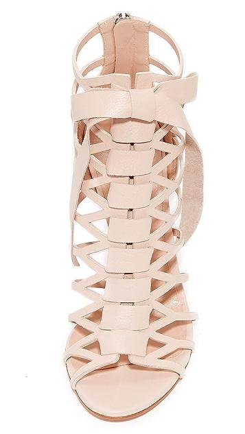 Casadei Caged Sandals