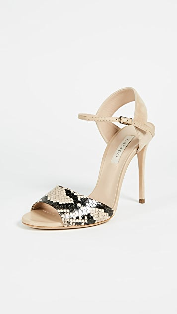 Casadei Linda Strappy Pumps