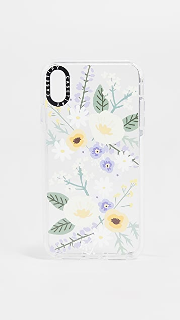 Casetify Soft Floral Veronica iPhone XS Max Case