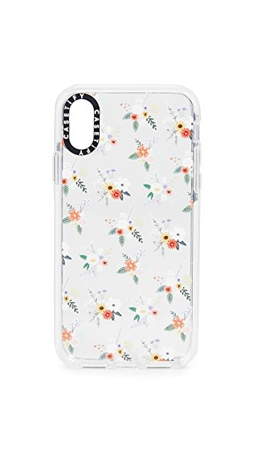 Casetify Floral Allie Alpine iPhone X/XS Case