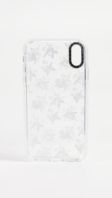 Casetify Soft Floral Allie Alpine iPhone XR Case