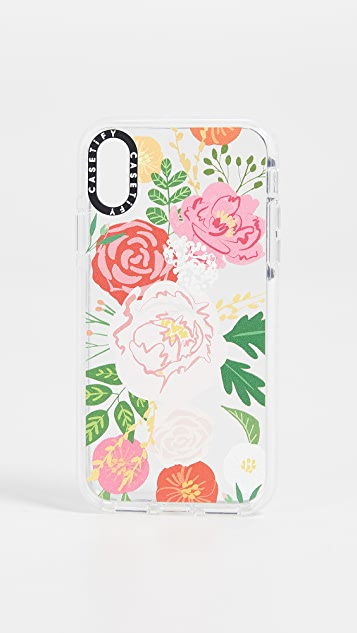 Casetify Jungle Adeline Florals iPhone X / XS  Case
