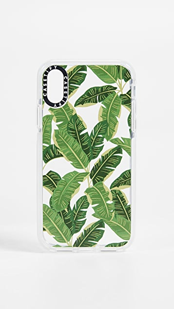 Casetify Jungle Leaves iPhone X / Xs Case