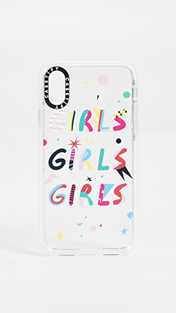 Casetify Girls Girls Girls iPhone X / Xs Case
