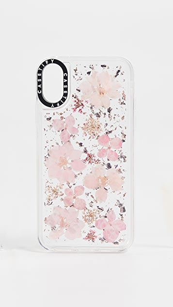 quality design 39002 252c4 Pressed Flower Sakura iPhone X / XS Case
