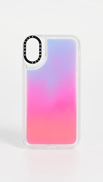 info for d727e 426ec Flame Neon Sand iPhone Case