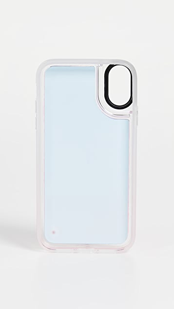 Casetify Flame Neon Sand iPhone Case