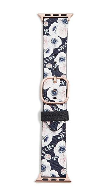 Casetify Saffiano Leather Apple Watch Band