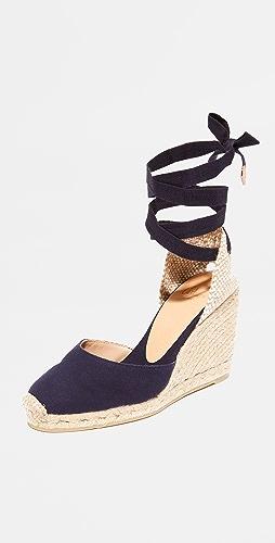 Castaner - Carina 坡跟编织底便鞋