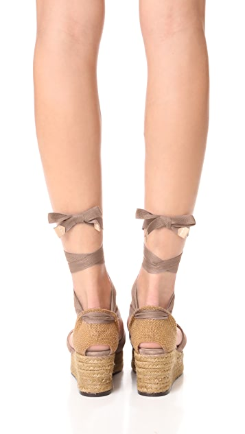 Castaner Serious Summer Wedge Espadrilles