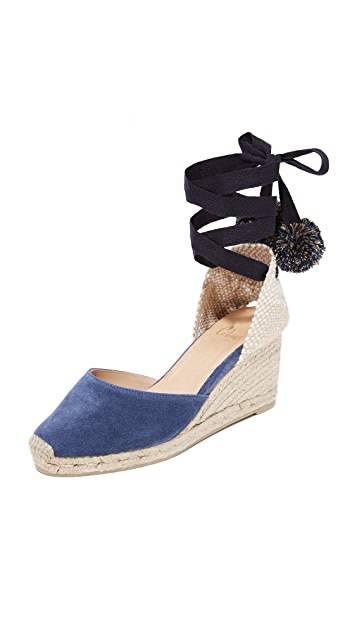 Castaner Carina Low Wedge Espadrilles