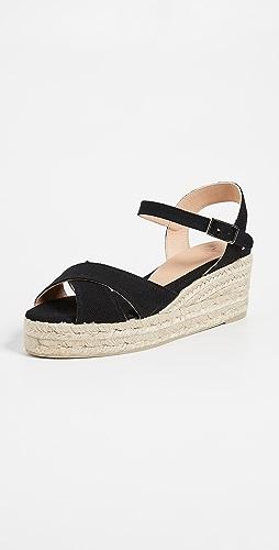 Castaner - Blaudell 交叠低坡跟鞋