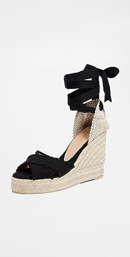 Castaner - Bluma 交叉坡跟鞋
