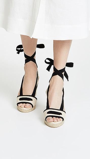 Castaner Grosella Wedge Sandals