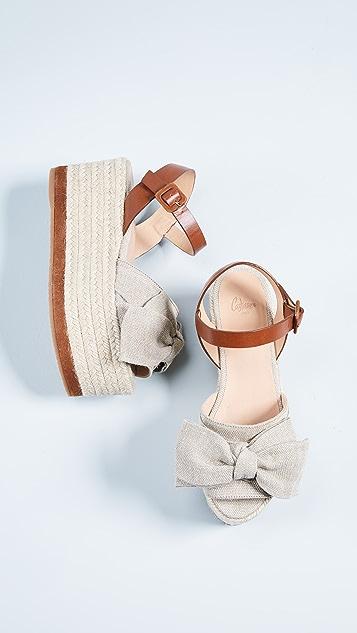 Castaner Wistaria Flatform Sandals