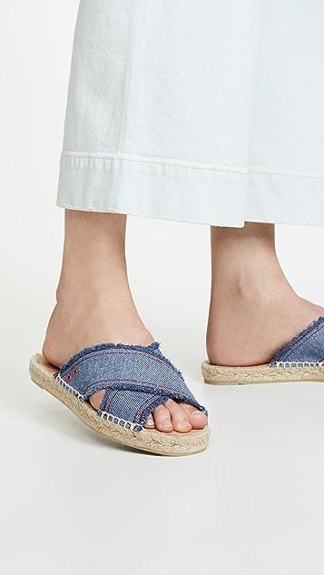 Castaner Palmera 凉拖鞋