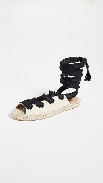 Castaner Pippa Flat Sandals