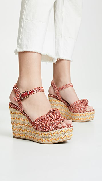 Janet Wedge Espadrilles by Castaner