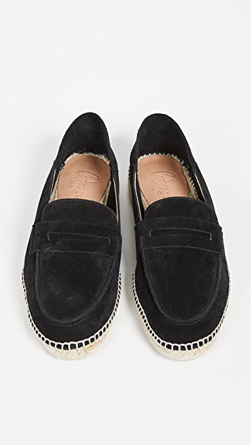 Castaner Mike Suede Espadrilles with Foldable Back