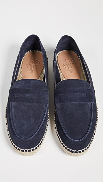 Castaner Mike Suede Espadrilles with Collapsible Back
