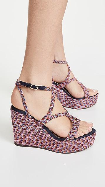 Castaner Juli 坡跟凉鞋