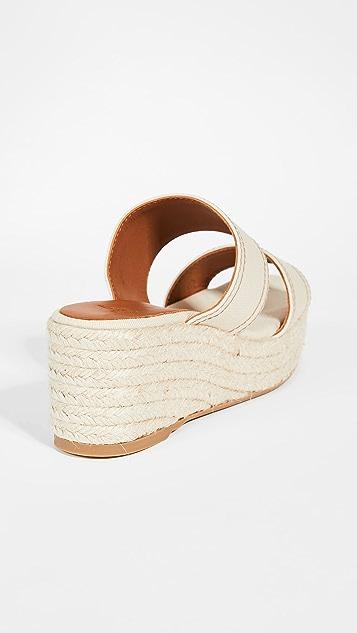 Castaner Quetza 坡跟凉拖鞋