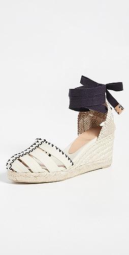 Castaner - Cici 坡跟麻编鞋
