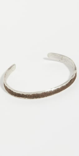 Cause and Effect - Oxidized Sterling Silver Cuff