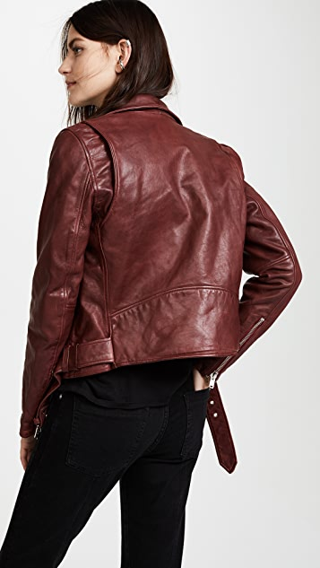 Christian Benner Solid Moto Jacket