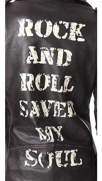 Christian Benner Rock 'n Roll Back Jacket