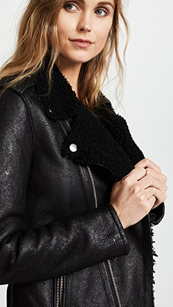 Christian Benner Shearling Jacket
