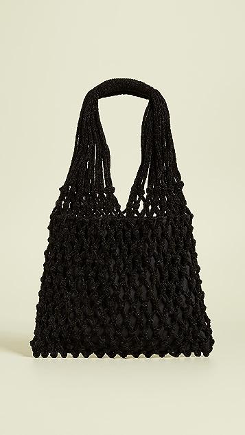 Caterina Bertini Crochet Tote Bag