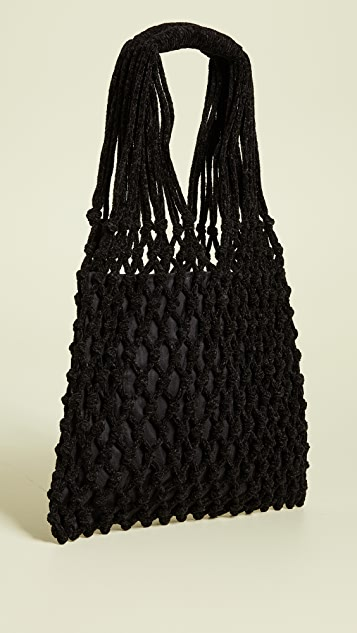 Caterina Bertini Crochet Tote Bag