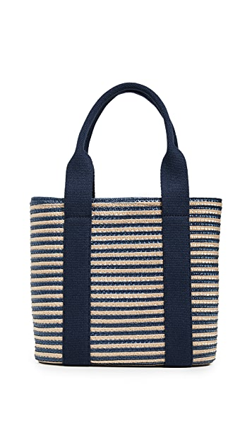 Caterina Bertini Striped Tote
