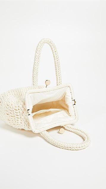 Caterina Bertini Woven Frame Bag