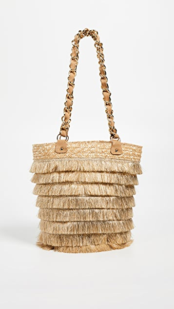 Caterina Bertini Fringe Bucket
